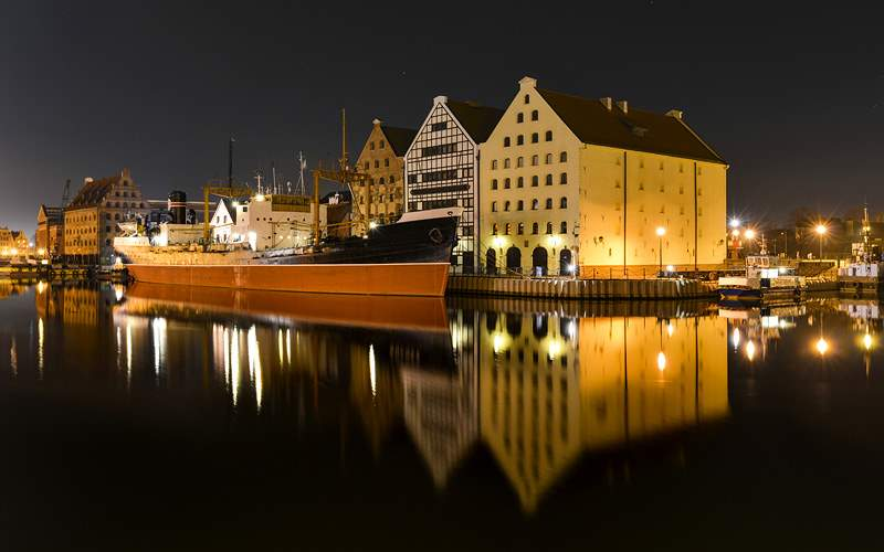 Vistula River in Gdansk Poland Azamara Club Cruise