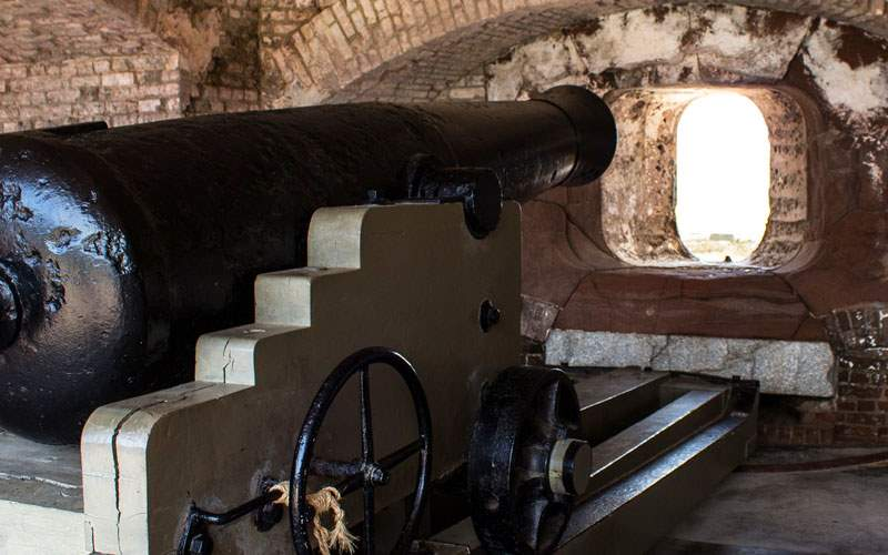 Fort Sumter in South Carolina