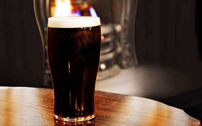 Irish black beer in Dublin pub Azamara Club Cruise