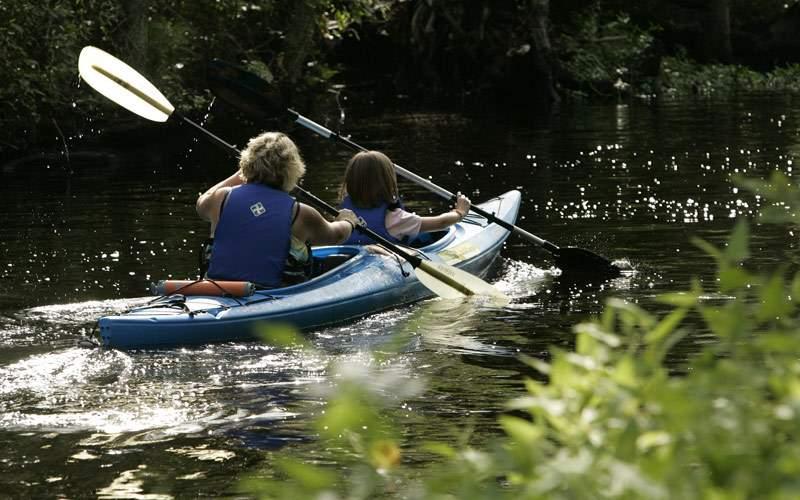 Kayak the Nahoon River