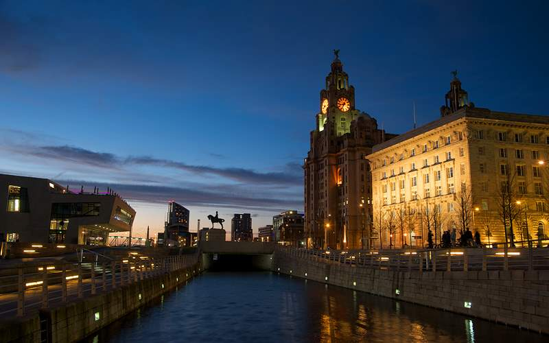 Liverpool Royal Liver Building Azamara Club Cruise