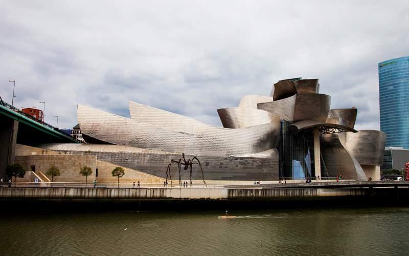 view of Guggenheim Museum Azamara Club Cruises