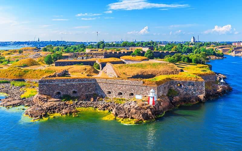 Suomenlinna fortress Helsinki Azamara Club Cruises