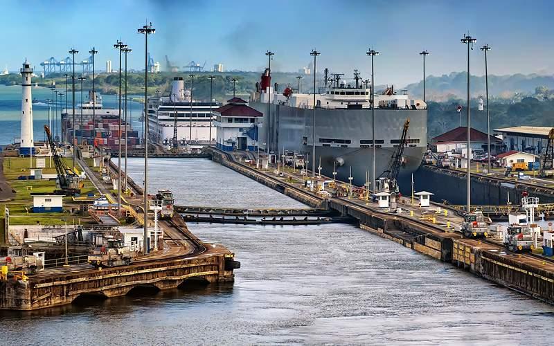 View of the Panama Canal Azamara Club Cruises