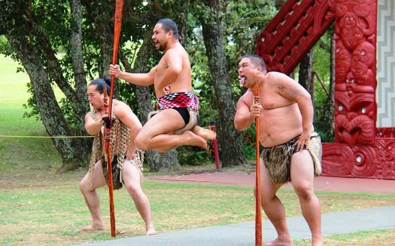 Maori Ritual at Waitangi Treaty Grounds