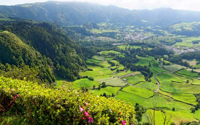 Azores in Portugal