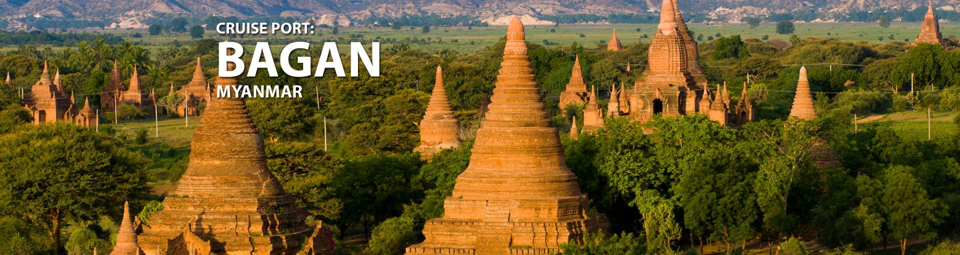 Cruises to Bagan, Myanmar
