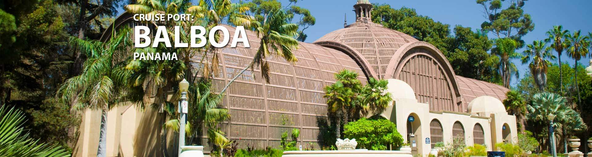 Cruises to Balboa, Panama