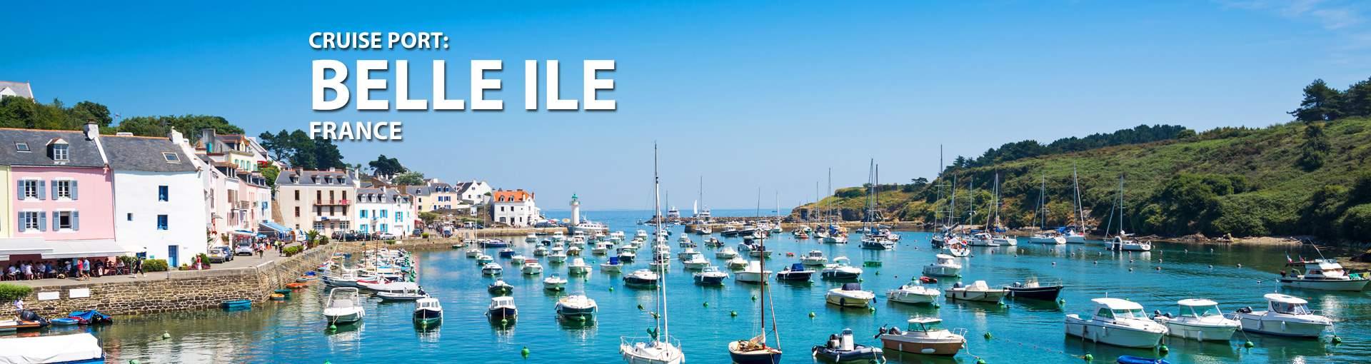 Cruises to Belle Ile, France