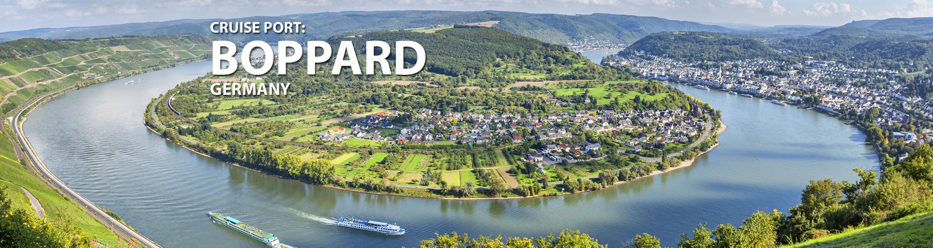 Cruises to Boppard, Germany