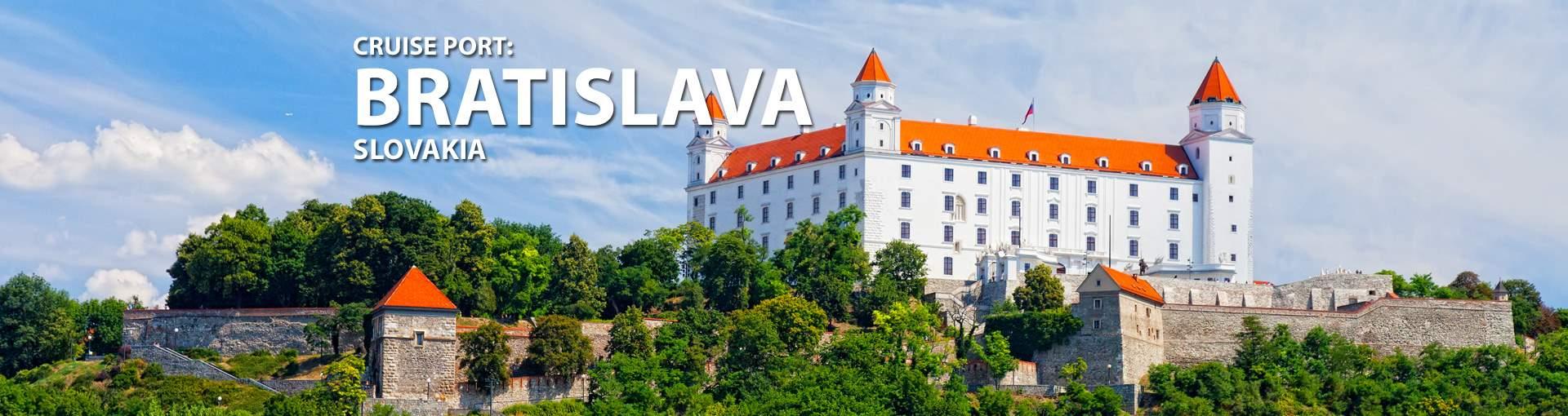 Cruises to Bratislava, Slovakia