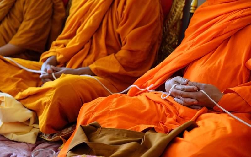 Buddhist monks in Myanmar