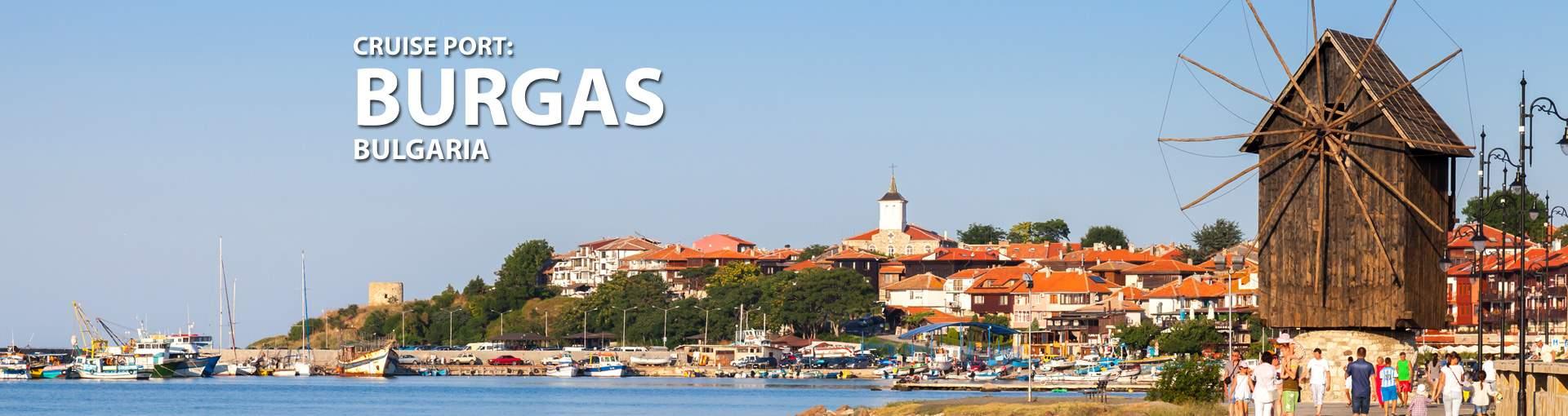 Cruises to Burgas, Bulgaria