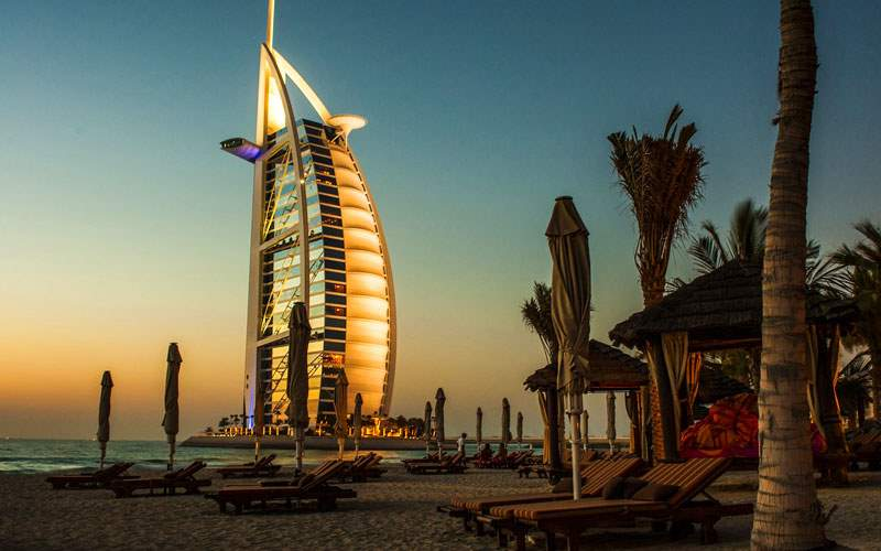 Burj Al Arab in Dubai, UAE