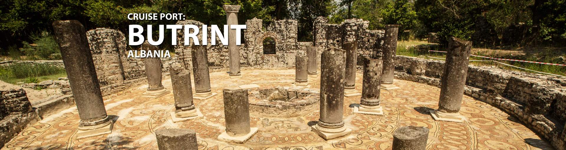 Cruises to Butrint, Albania
