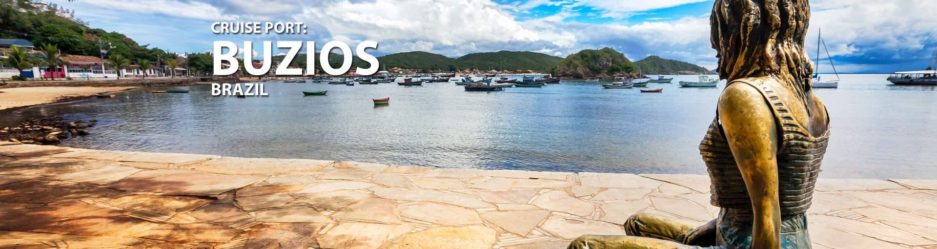 Cruises to Buzios, Brazil