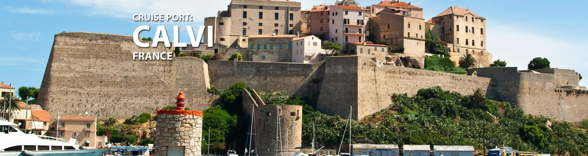 Cruises to Calvi, France