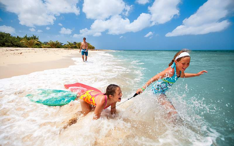 Swimming in Aruba Carnival Cruises Caribbean