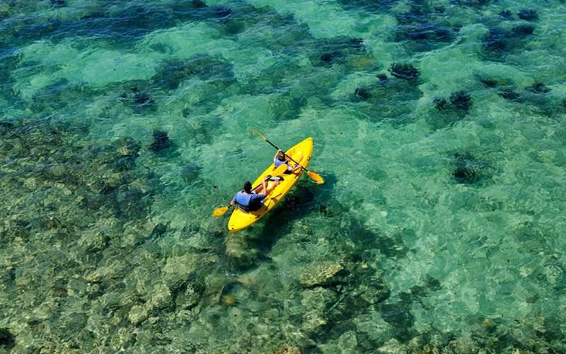 Kayaking in Fort Hamilton Bermuda Carnival Cruises