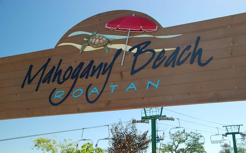 Mahogany Beach Roatan Carnival Cruises Caribbean