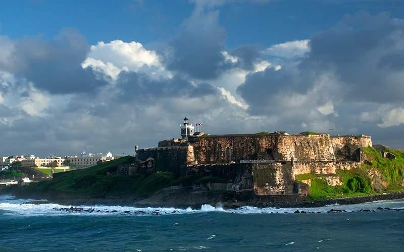 Old San Juan Fort Carnival Cruises Caribbean