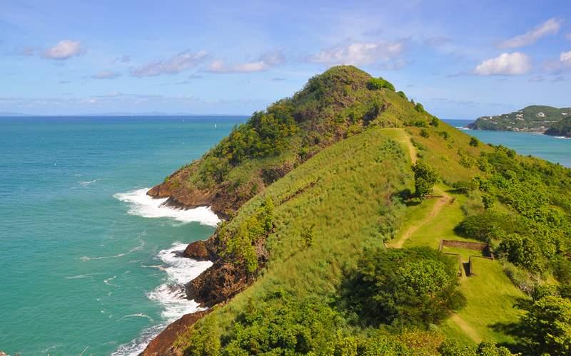Pigeon Island St. Lucia Carnival Cruises Caribbean