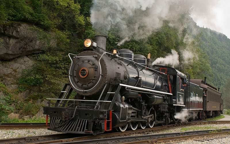 steam train adventure Carnival Cruises Alaska