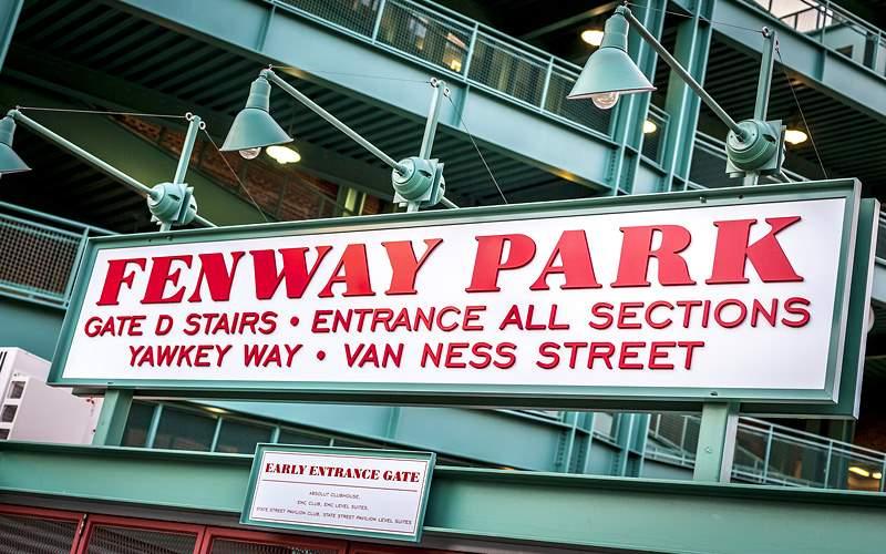Fenway Park Stadium Boston Carnival Cruises
