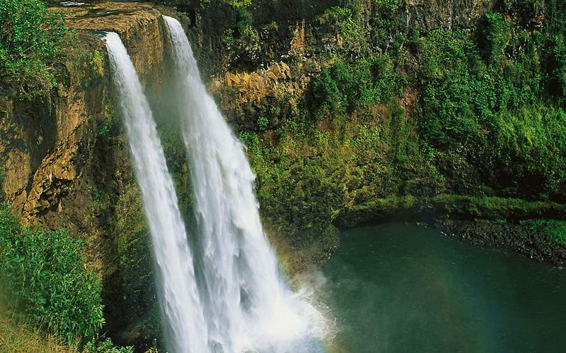 Wailua Falls in Maui Carnival Cruises Hawaii