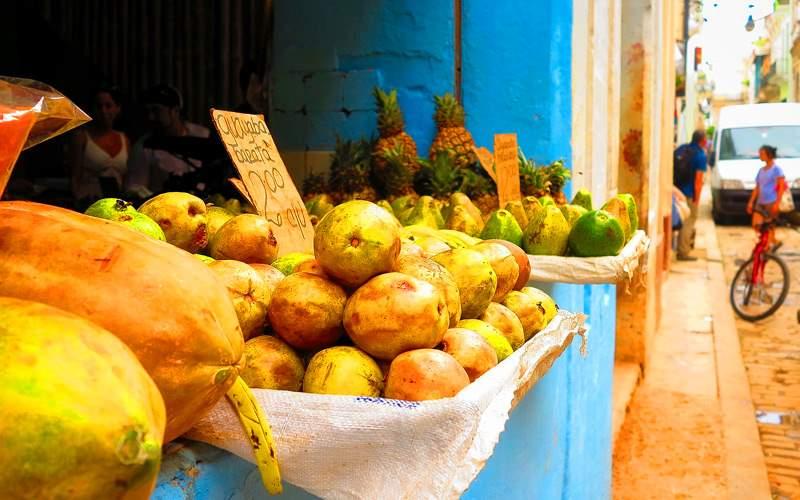 Fruit Market in Cuba