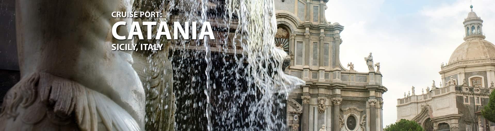 Cruises to Catania, Sicily, Italy