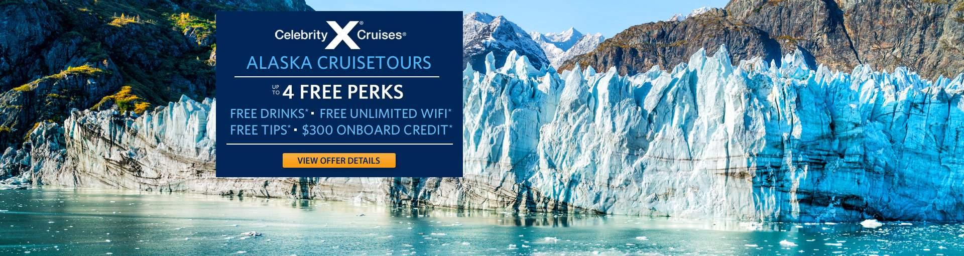 Celebrity Cruises: Alaska Cruisetours
