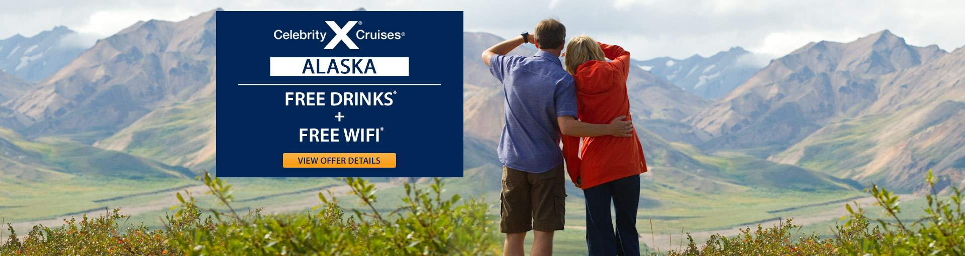 Celebrity Cruises to Alaska with Free Perks