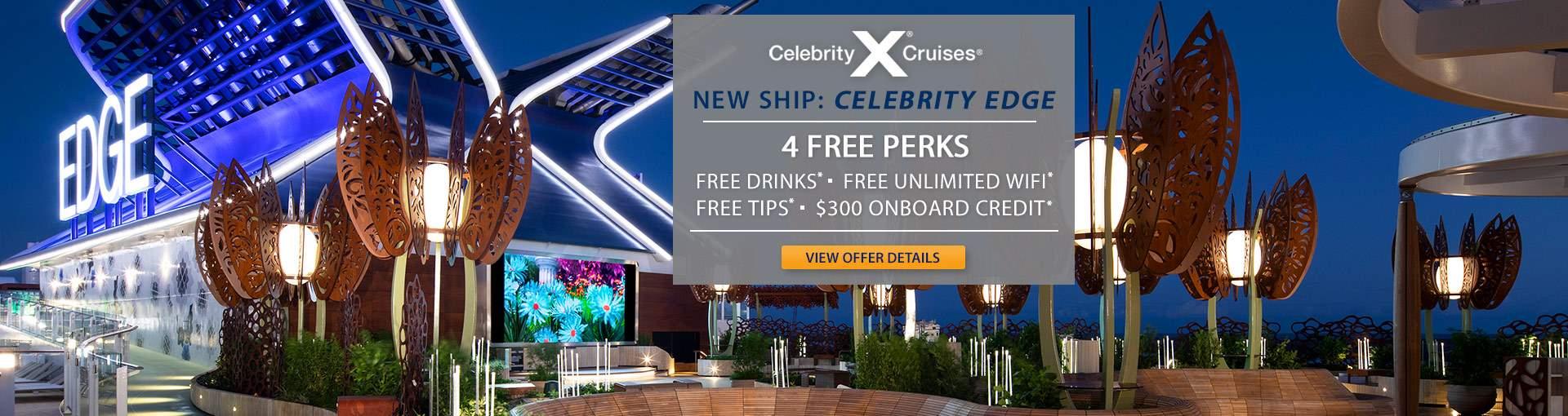 Celebrity Edge: 4 Free Perks