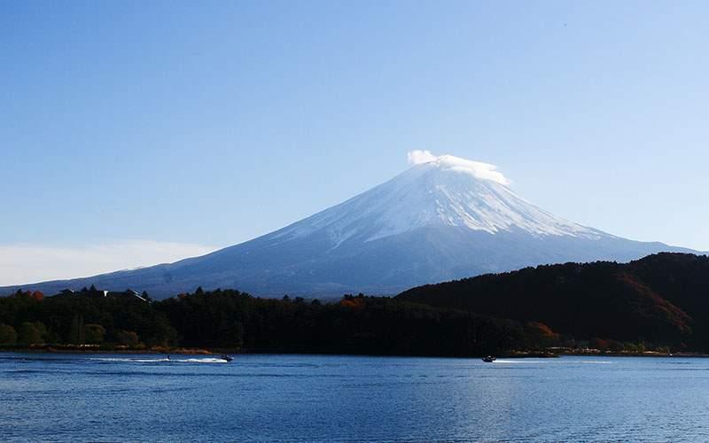 Mt. Fuji in Yokohama, Japan