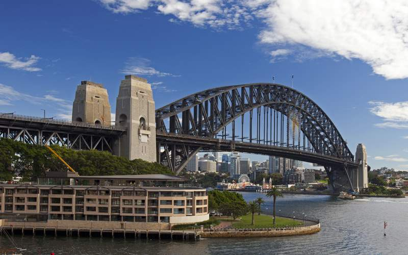 Sydney, Australia harbor Celebrity Cruises