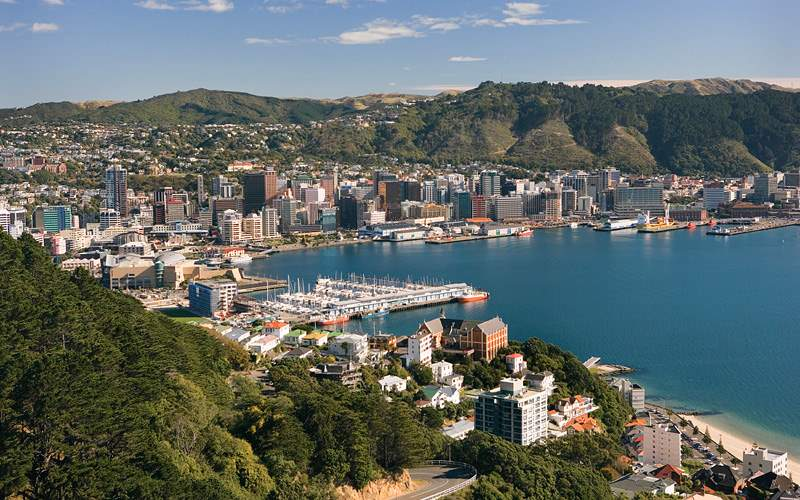 City of Wellington Celebrity Cruises New Zealand