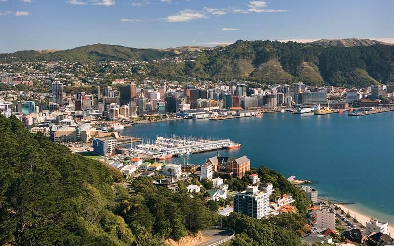 City of Wellington Celebrity Cruises New Zealand