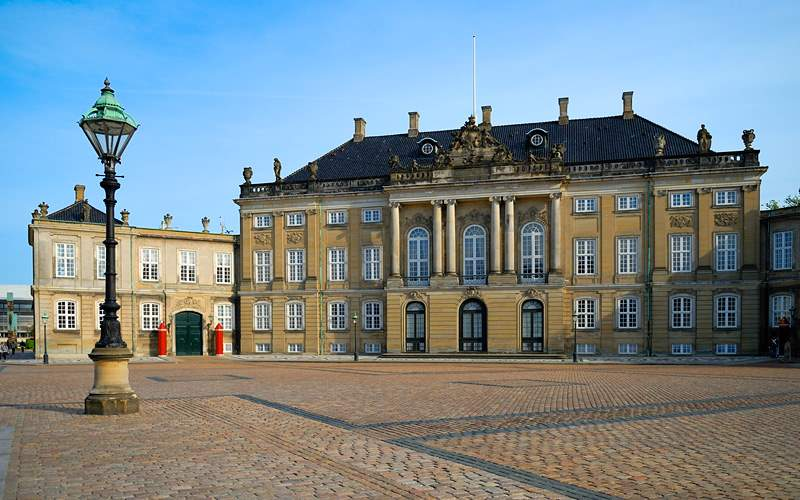 Amalienborg Palace in Copenhagen Celebrity Cruises