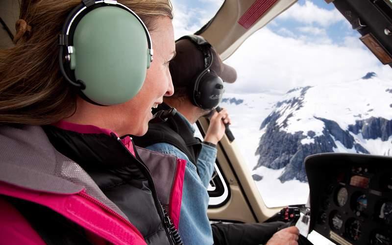 Alasla helicopter tour Celebrity Cruises
