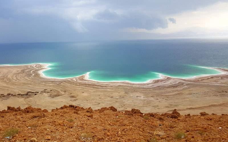 Coastline of the Dead Sea