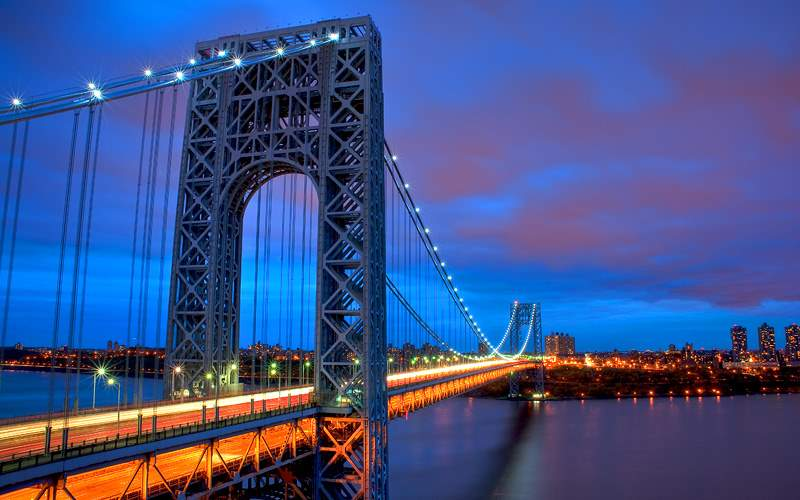 George Washington Bridge NYC Celebrity Cruises