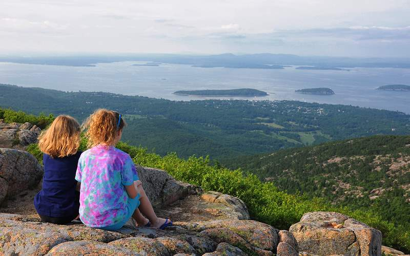 Bar Harbor and Cadillac Mountain Celebrity Cruises
