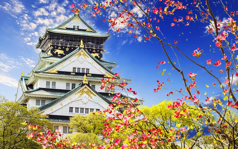 Osaka Castle Japan Celebrity Cruises Transpacific
