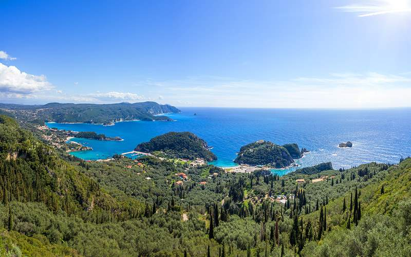 Paleokastritsa in Corfu, Greece Celebrity Cruises