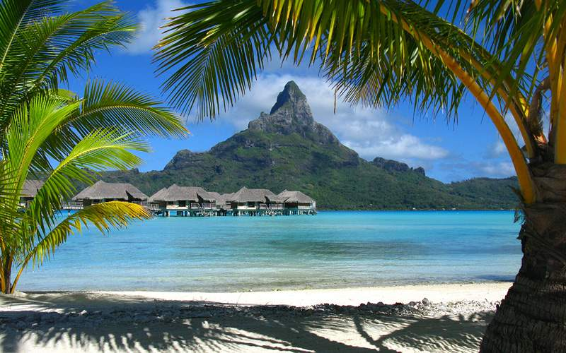 Bora Bora screnery Celebrity Cruises Transpacific