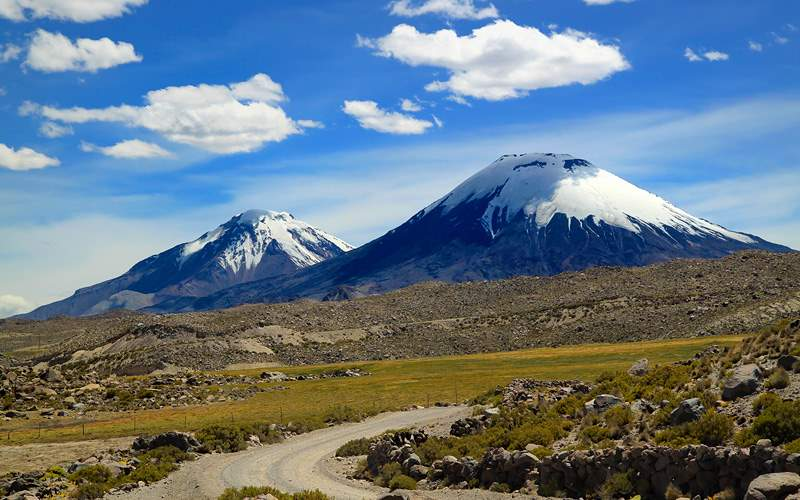 Payachata volcanic group, Chile Celebrity Cruises