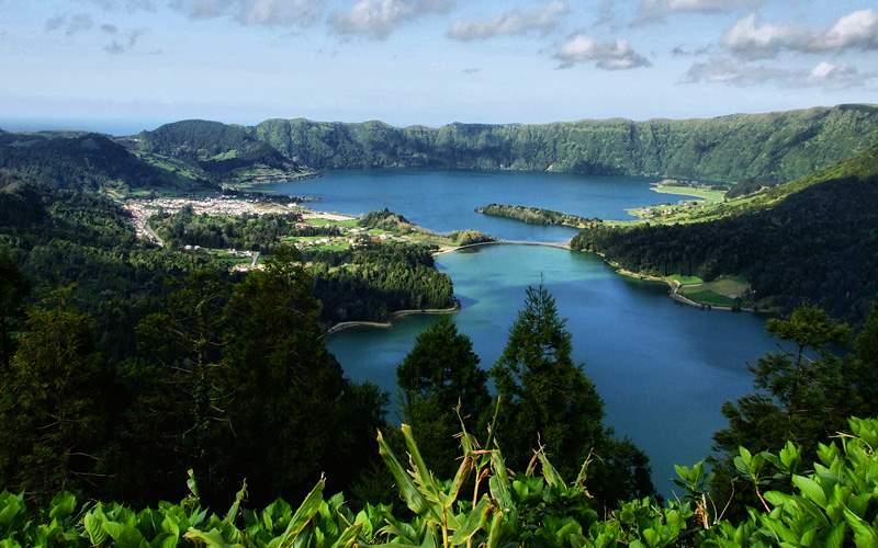 Sete Cidades lagoon Azores Celebrity Cruises
