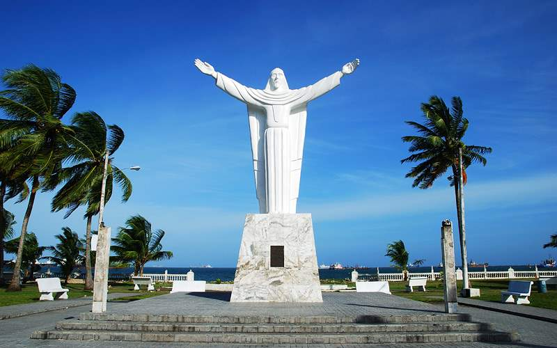 statue of Christ, Colon Panama Celebrity Cruises