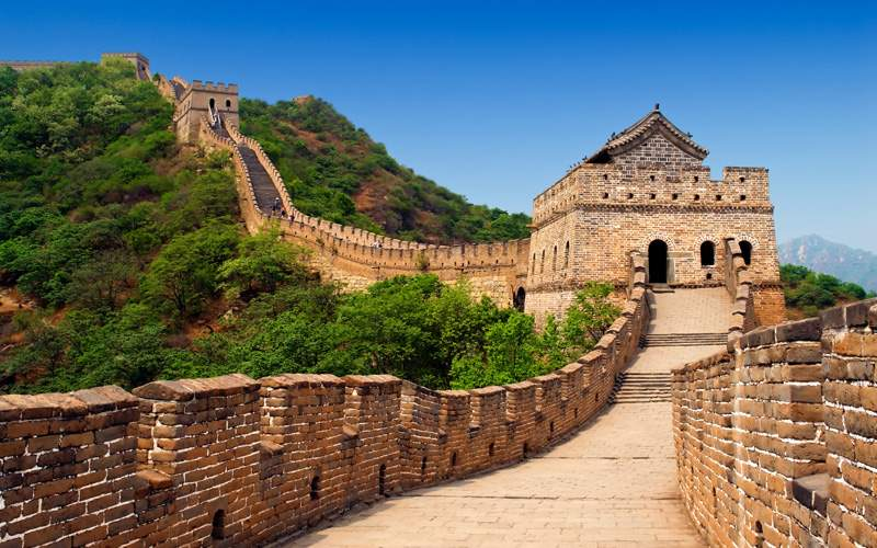 The Great Wall of China Celebrity Cruises
